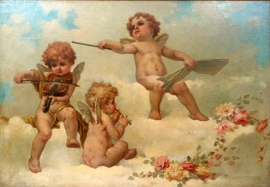 three-cherub-musicians